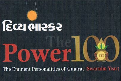 The Eminent Personalities of Gujarat Year of 2010 by Divya Bhaskar