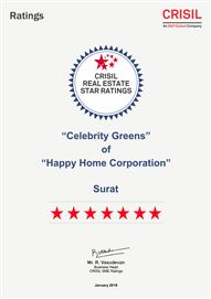 Crisil 7 Star Ratings - 2018 (Celebrity Greens)