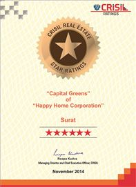 Crisil 7 Star Ratings - 2014 (Capital Greens)